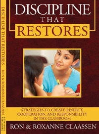 Cover of Discipline that Restores. Click the picture for a large PDF of front and back covers.